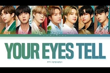 Terjemahan Lirik BTS Your Eyes tell