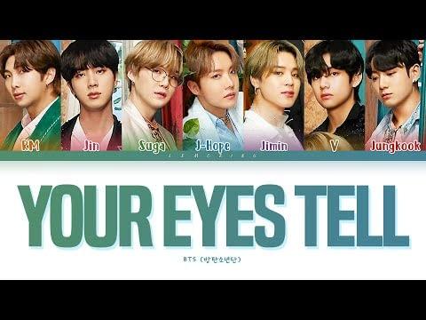 Terjemahan Lirik BTS Your Eyes tell