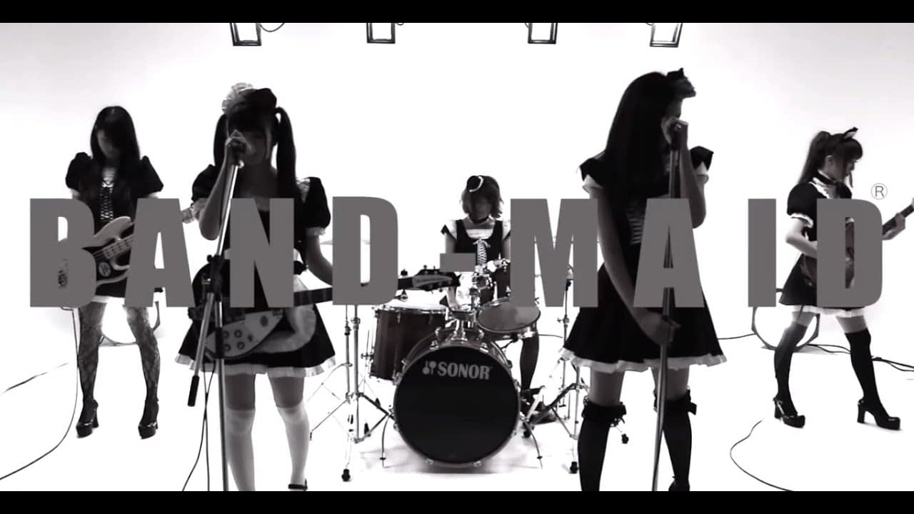 Singer/Band : BAND-MAID Song Title : Thrill ( sesuatu yang menggetarkan hati ) Mini Album : New Beginning Single : Ai to Jonetsu Matador